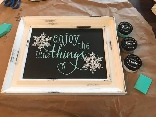 Enjoy the little things with paste